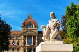 Palais du Rhin in Strasbourg, France - 223185036