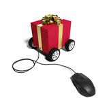 Je commande mes cadeaux sur internet - 223202694