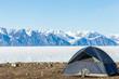 Scenic camp site