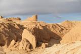 Sandy, desert rocks. - 223212248