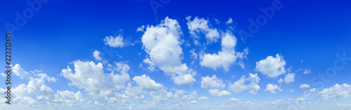 fototapeta na ścianę Cloudscape - Blue sky and white clouds
