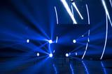 rays of light illuminate the scene - 223213496