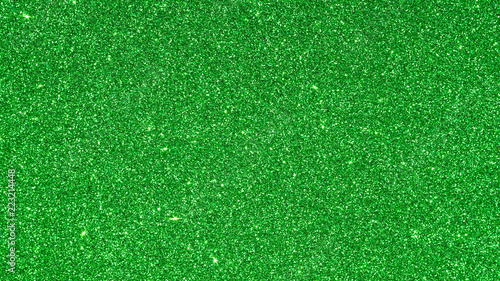 Green glitter texture for a background. - 223214448