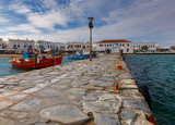 Mykonos. Traditional building of the Greek Church. - 223215899