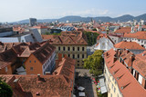 View of Graz from Schlossberg, Austria - 223227693