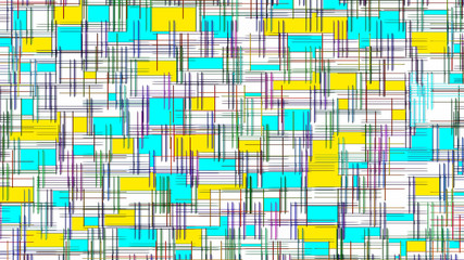 Checkered and patch geometric pattern as abstract background.