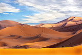 Sand dune in the desert of Morocco - 223230873