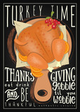 Thanksgiving Day poster - 223235468