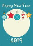 Happy New Year Card - 223235677