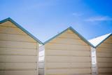 Cabine de plage sur la plage des Célestins à Vichy - 223238620