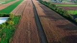 Amish Farms ready to Harvest there Fields - 223243602