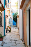Street of Baska , Krk Island, Croatia