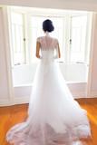 Bride In Dreamy Soft Window Light - 223258052