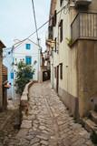 Vrbnik historical town in Krk Island Croatia