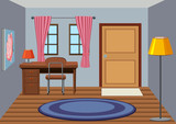 An interior of study room - 223283800