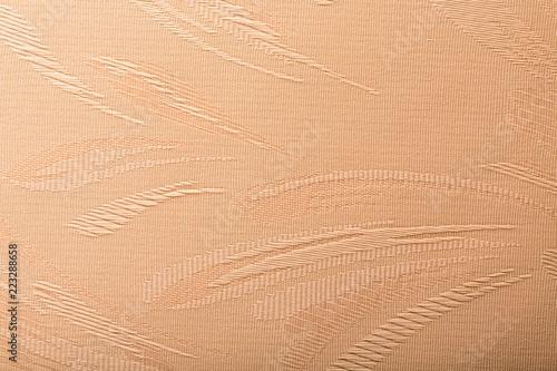 Tkanina abstrakcyjnych beżowych liści