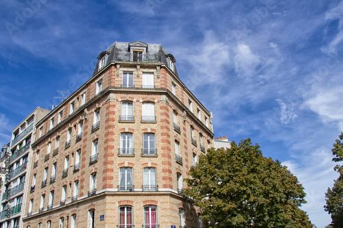 Fridge magnet immeuble à Paris