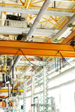 Machine shop of metallurgical works indoors room - 223334440