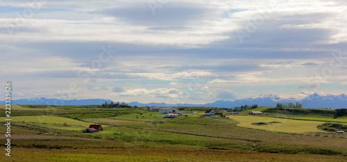 Foto Murales hameau au loin