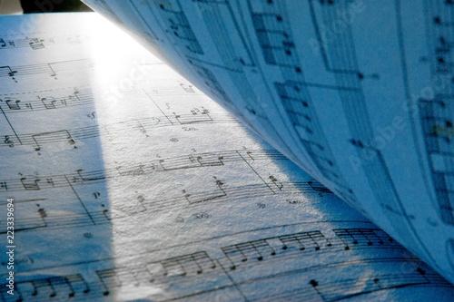 Music Book Close-Up - 223339694