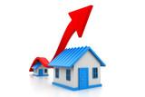 Economical home sale graph - 223355288