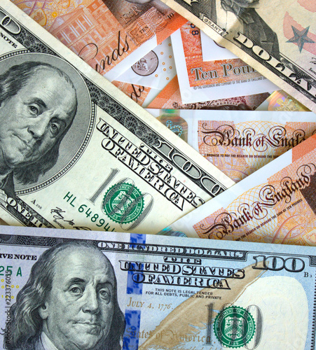 Background From Us Dollars And British Pounds