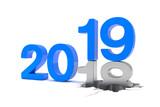 2018 - 2019 - Silvester, Neujahr, Countdown, Jahreszahlen