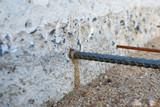 Wire Mesh ground sand - 223385819