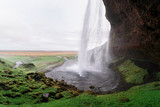 Seljalandsfoss - picturesque and majestic waterfall, Iceland