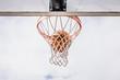 Basketball Inside the Net