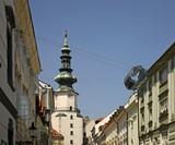 Gate of St. Michael (Michalska Brana) in Bratislava. Slovakia