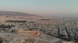 I flied my drone from as far as 2km+ to get this shot of Acropolis and Athens cityscape as background. - 223446885