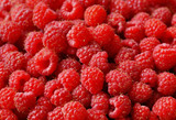 raspberry lot of berries texture background