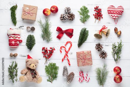 Christmas composition - 223479613