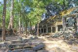 Ta Prohm temple. Angkor Thom. Cambodia