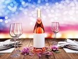 A romantic dinner for two. - 223486004