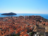View of Dubrovnik from the city wall Croatia - 223508075