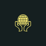 ecology Icon. earth protection icon