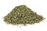 Natural dried Provence herbs on white background