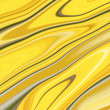 Leinwandbild Motiv Texture 3d yellow with a marble pattern. Background for packing with a fashionable pattern of waves and strips, beautiful wallpaper in a modern style.