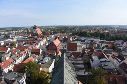 Greifswald, Ausblick vom Turm des Doms St. Nikolai - 223536692