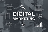 Concept of digital marketing - 223537826