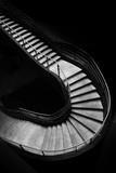 escalier marche monter descendre virage tournant tourner ascension ville urbanisme urbain aménagement culture architecte quartier piéton accés - 223540286