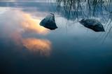 Stein im ruihen Wasser - 223577873