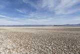 Soda dry lake bed in the Mojave desert near Baker and Zzyzx California.   - 223582492