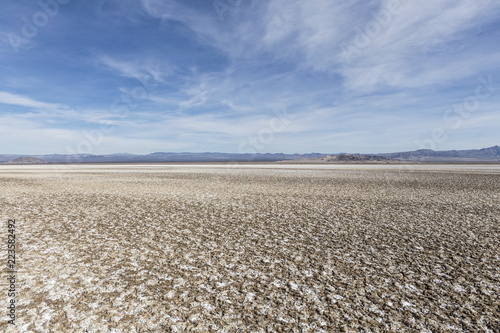 Soda dry lake bed in the Mojave desert near Baker and Zzyzx California.