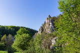 rocks in the Bolechowicka Valley in the Kraków-Częstochowa Upland