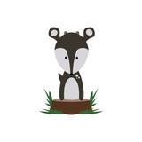 Deer on Stump