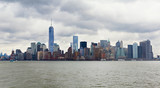 Cloudy New York Skyline