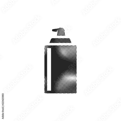 Halftone Icon - Liquid spray